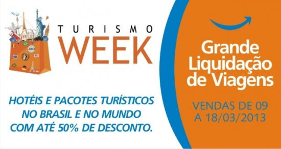TURISMO WEEK NA VIA ALEGRIA